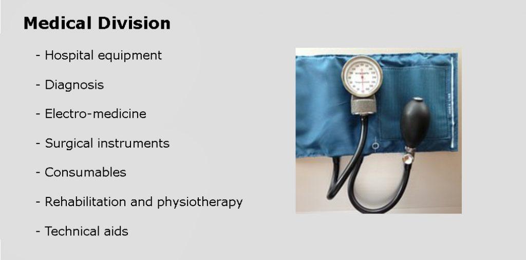 División médica